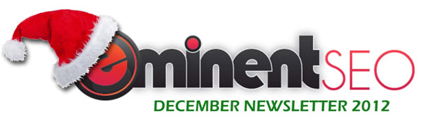 Eminent SEO December 2012 Newsletter