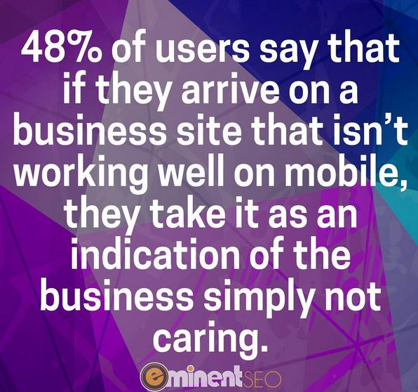 48 Percent of Mobile Users - Eminent SEO