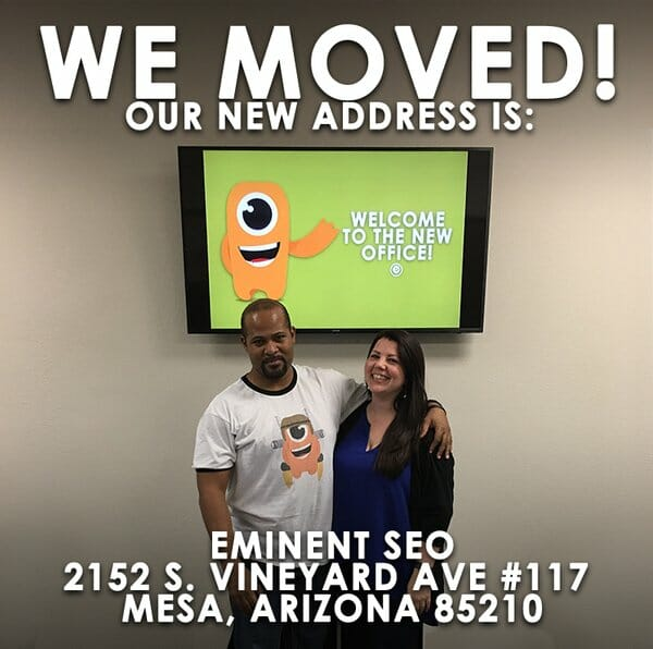 Eminent SEO New Office Mesa