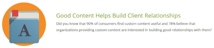 Good Content Helps Build Client Relationships - Eminent SEO