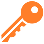 Key Icon Orange - Eminent SEO