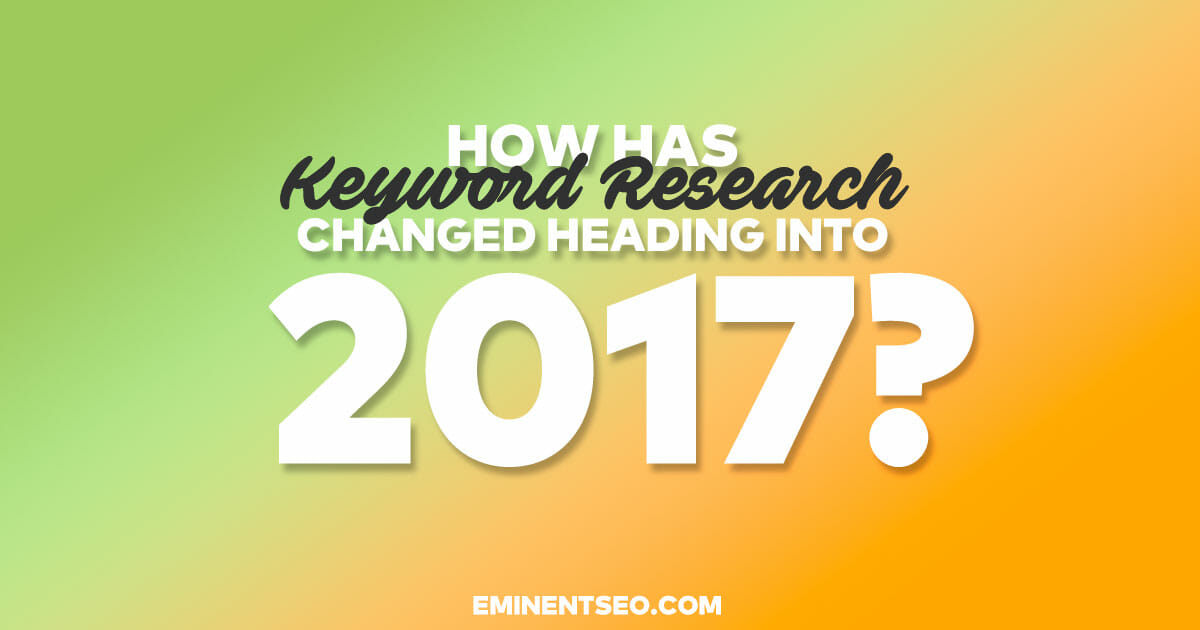 Your Guide to Keyword Research in 2016 Going into the New Year