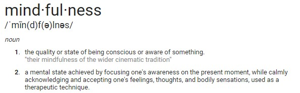 Mindfulness Definition - ESEO