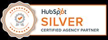 Hubspot Silver Certified Agency Partner Logo