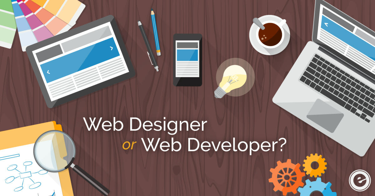 Difference Between Web Designer and Web Developer - Eminent SEO