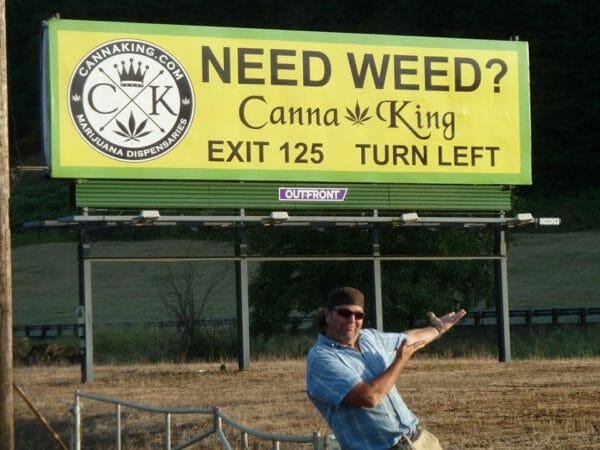 Canna King Billboard Oregon - ESEO