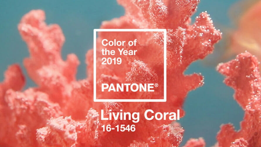 2019 Color of the Year Living Coral