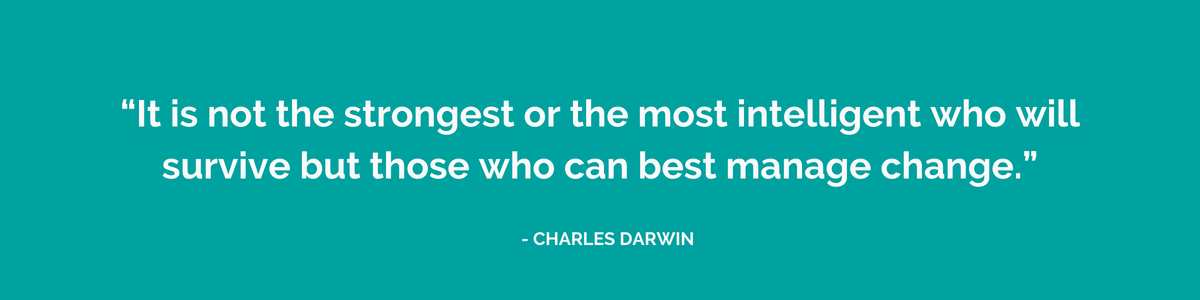 Charles Darwin Quote on Business